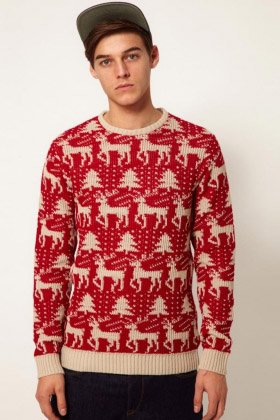 Christmas Jumper Red
